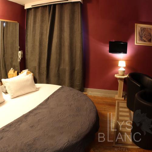 Le Lys Blanc - Chambres lit rond