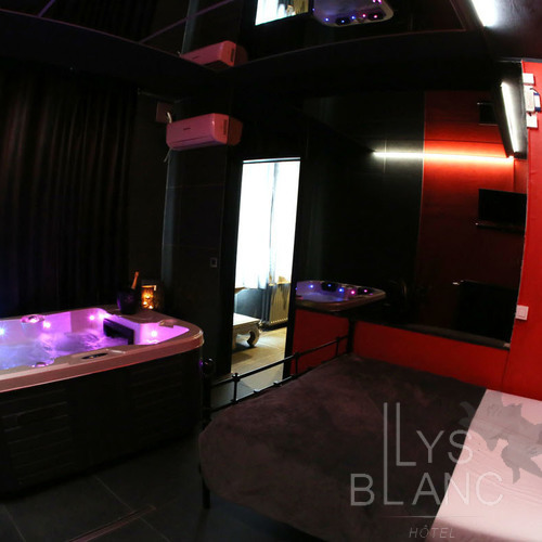 Le Lys Blanc - Chambre n°1 Balnéo